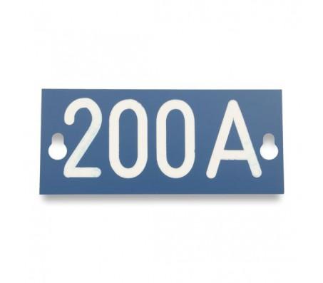 Табличка номинального тока PEM242.200