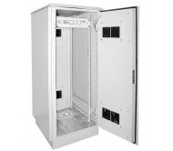 "ITK Шкаф уличный 19"" 24U 720x860, IP55 металл двери, серый"