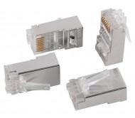 ITK Разъём RJ-45 FTP для кабеля SOLID кат.6