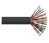 ITK Кабель связи витая пара F/UTP, кат.5E 100х2х24AWG solid, LDPE, 305м, черный